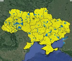 Карта об'єднаних громад