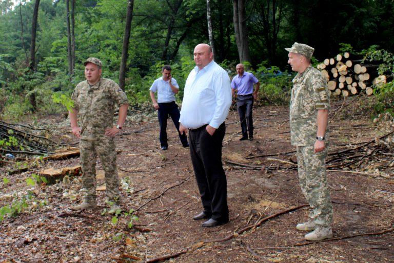 Військова прокуратура на Хмельниччині займається незаконною вирубкою лісу - фото 1