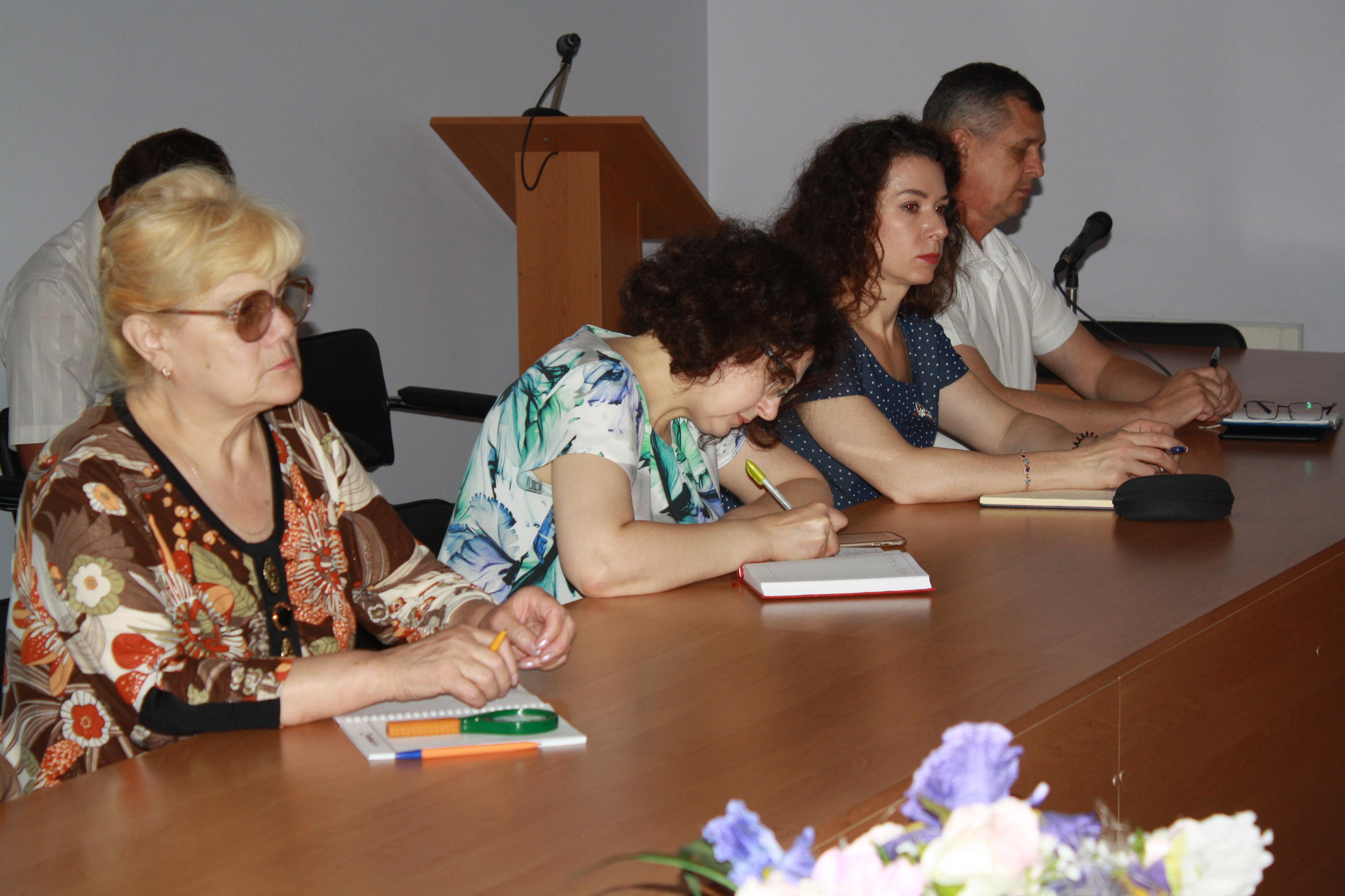 Відбулося засідання комітету забезпечення доступності осіб з інвалідністю