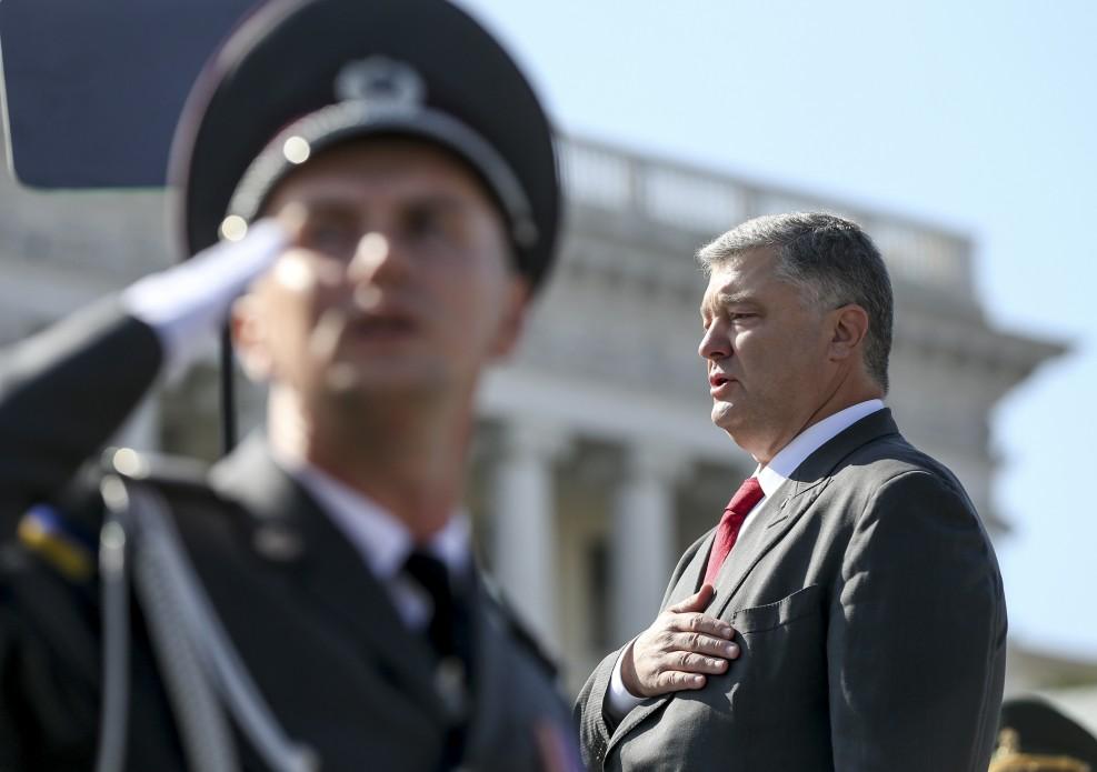 Виступ Президента на урочистому Параді військ «Марш нової армії» з нагоди 27-ої річниці Незалежності України