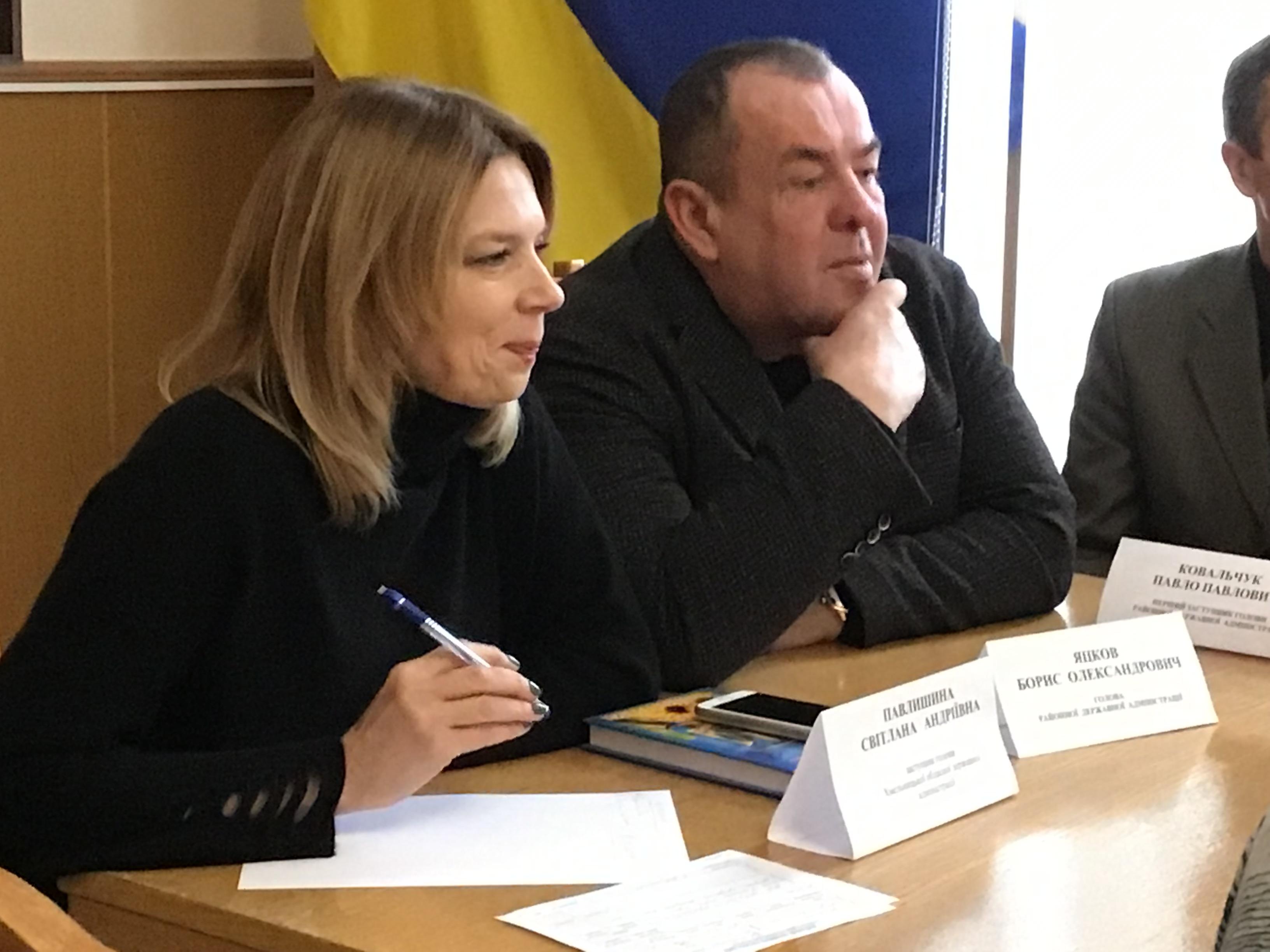 Світлана Павлишина з робочим візитом відвідала Ізяславщину